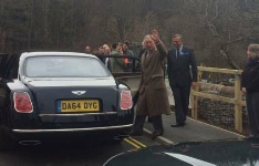 Prince Charles on the new Pooley Bridge - Picture courtesy of the BBC