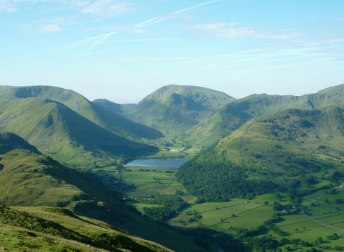 Brotherswater from Place Fell Photo (c) Rob Shephard