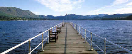 Ullswater from the pier at Pooley Bridge